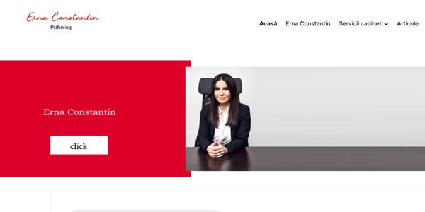 Erna Constantin – Website