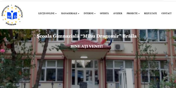 Școala Gimnazială Mihu Dragomir – Website