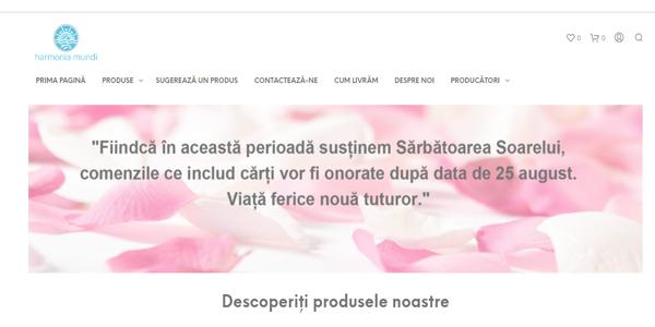 shop.harmonia.network – Website