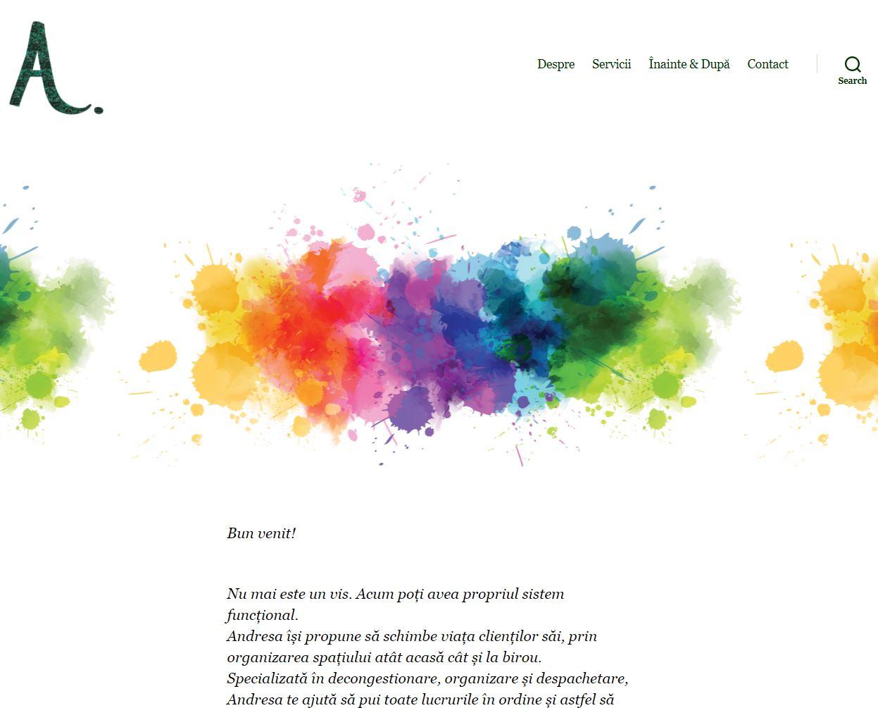 andresa.ro – Website